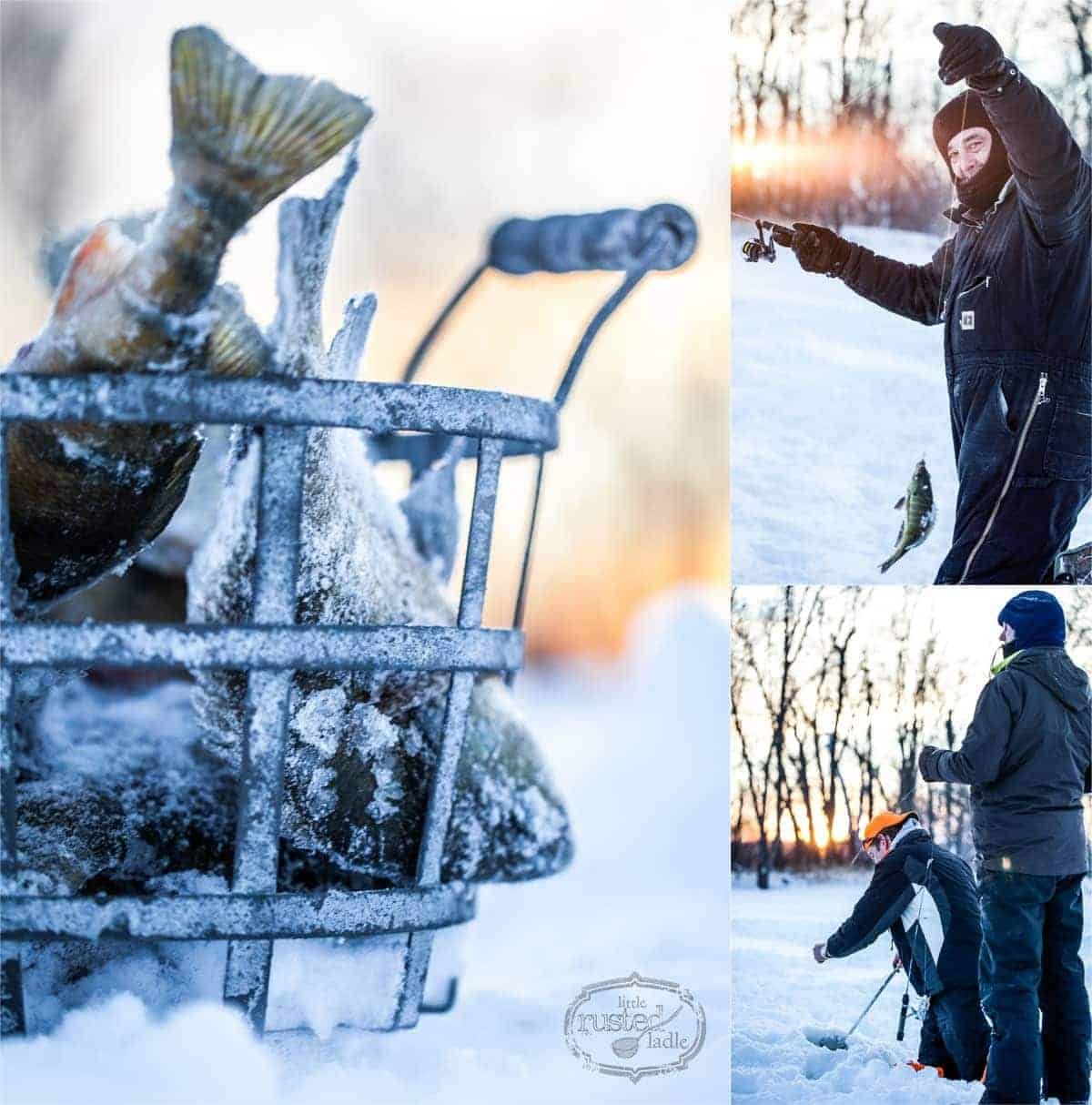 Gone Ice Fishin' | WI's Best Fish Fry Recipes | www.littlerustedladle.com