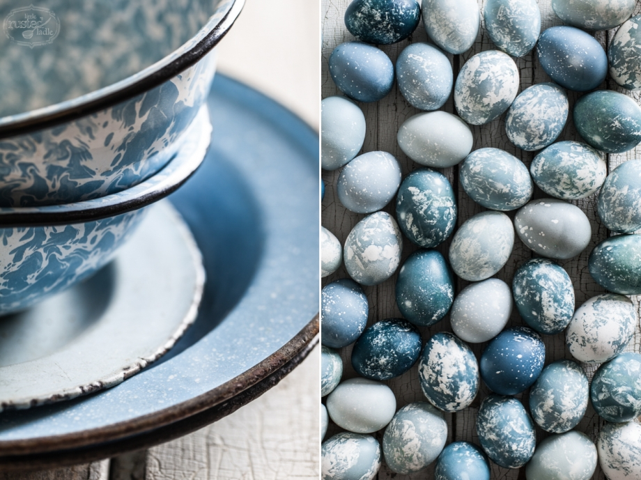 Little Rusted Ladle 13 96 WM- Jena Carlin Photography _Midwest Food Photographer - Natural Dye Blue Marble Easter Eggs