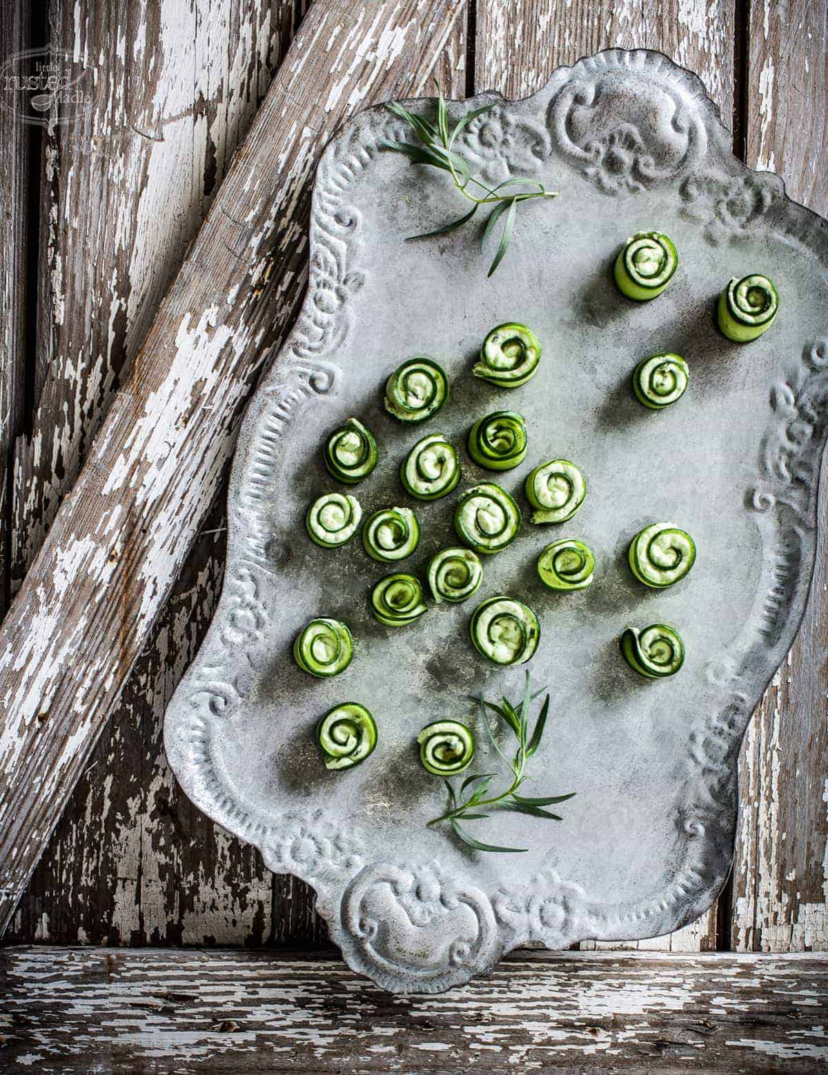 Little Rusted Ladle - Jena Carlin Photography - Fiery Goat Cheese Rollups 1_1 96WM