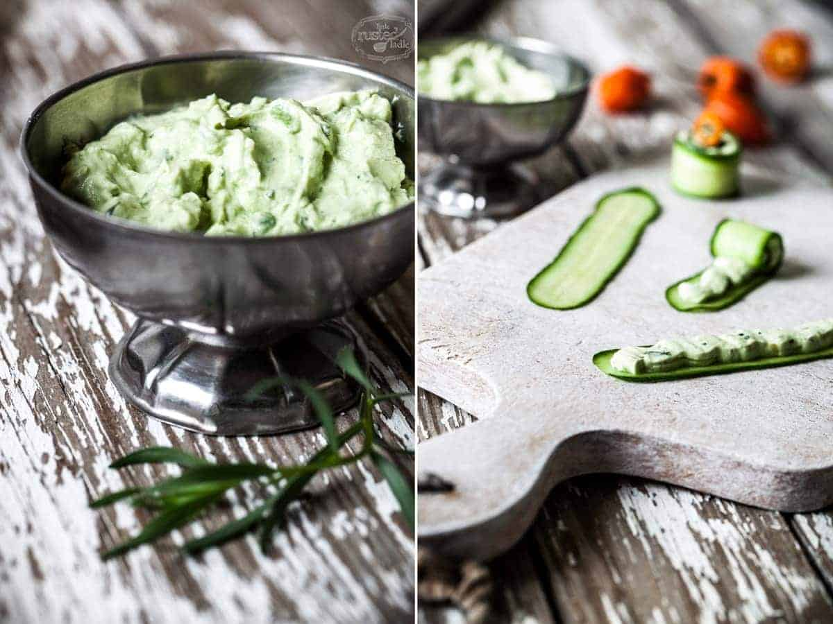 Little Rusted Ladle - Jena Carlin Photography - Fiery Goat Cheese Rollups 3 96WM