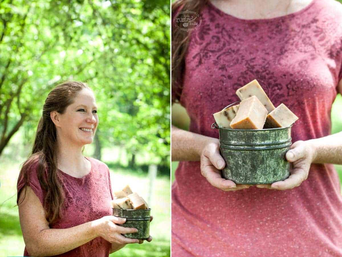 Little Rusted Ladle - Jena Carlin Photography Goat Milk Soap- Fiery Goat Cheese Rollups 8 96WM