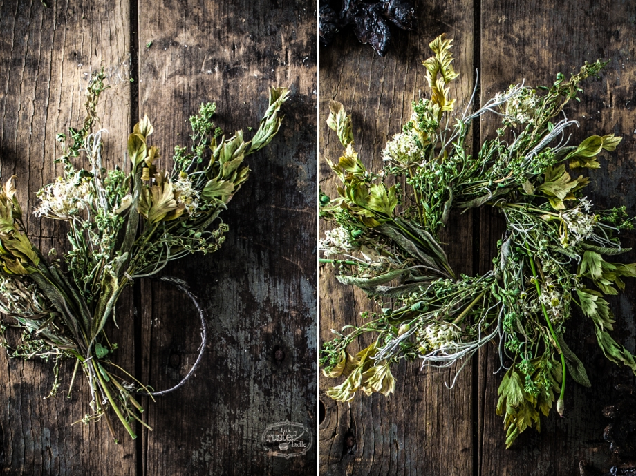 Herb Wreath Craft Rustic Home Decor_Little Rusted Ladle_Jena Carlin Photography_8_96WM