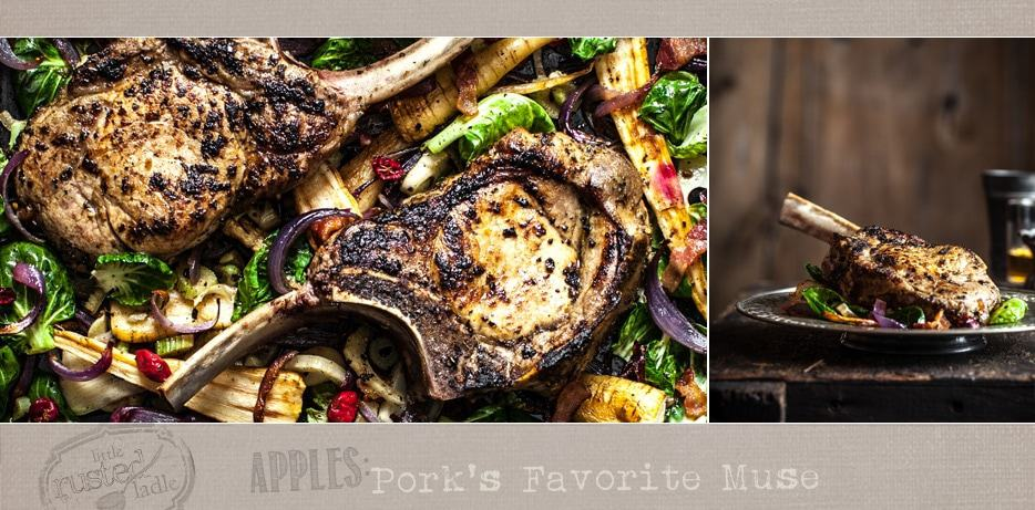 Apple Cider Pork Chop Recipes_Food Photographer_Little Rusted Ladle_Jena Carlin Photography_Rude on Food_12 300