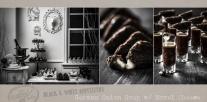 Appetizers | German Onion Soup | Black and White Food | www.littlerustedladle.com