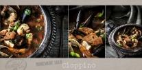 Cioppino Seafood Stew Soup Recipe | www.littlerustedladle.com