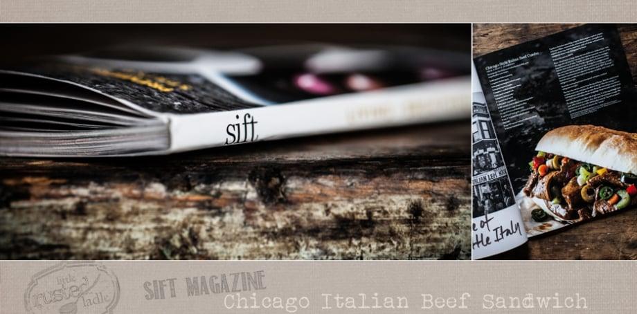 Sift Magazine Chicago Italian Beef Sandwich FB