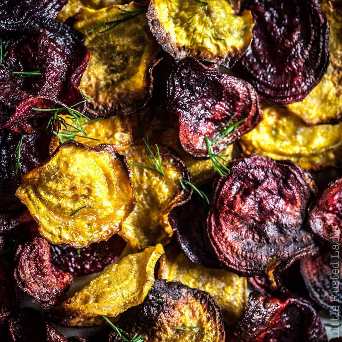 These Vegetable Chips can't be Beet!