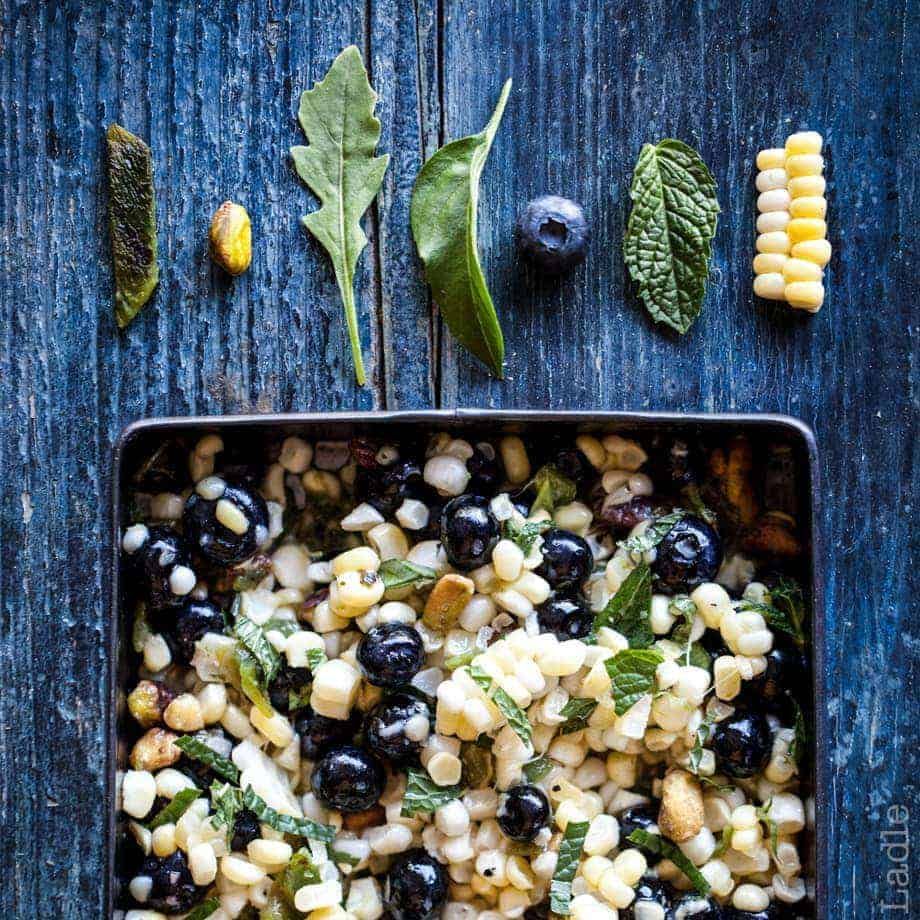 Fresh Blueberry & Sweet Corn Salsa Recipe