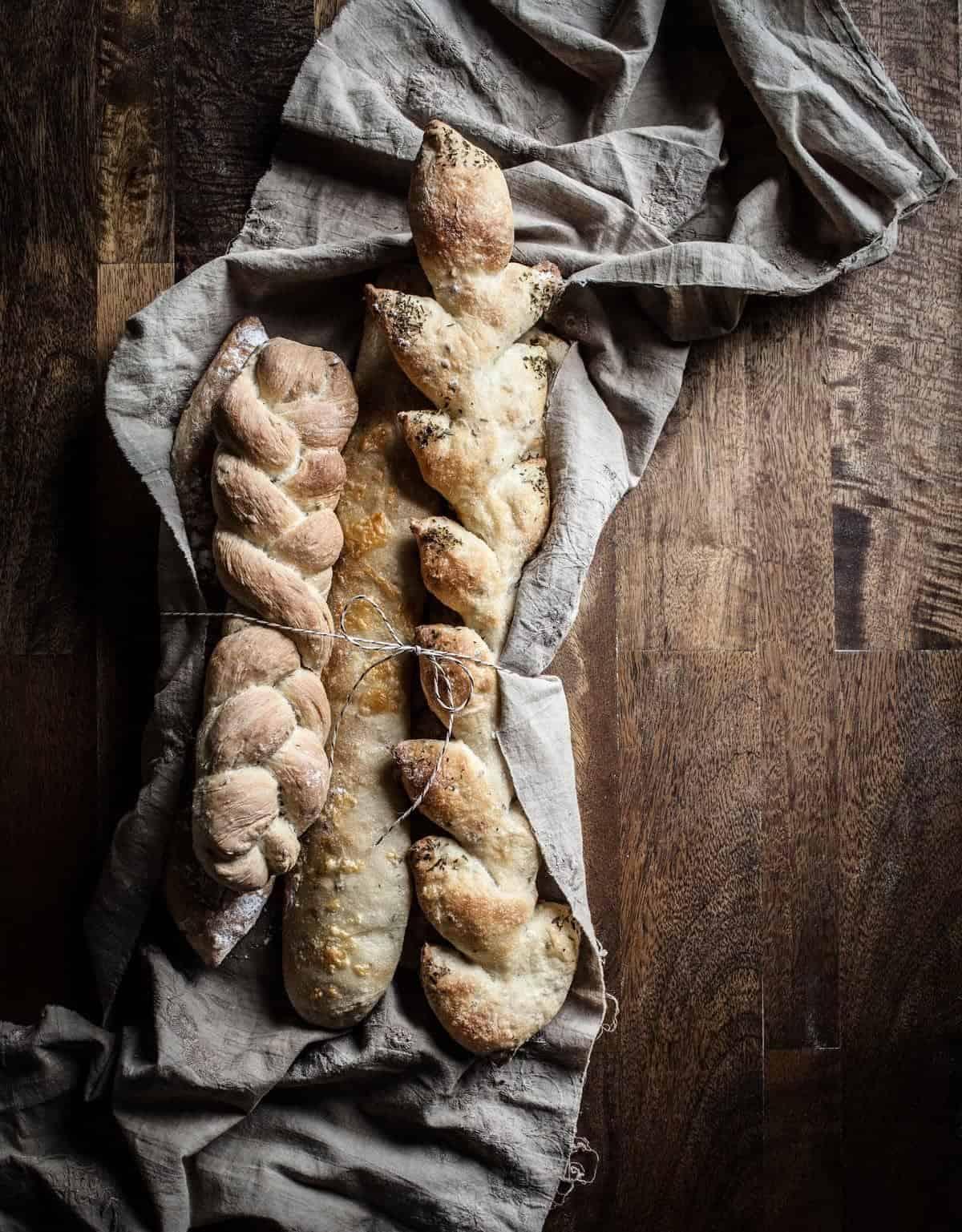 Artisan Baguettes - Little Rusted Ladle - Jena Carlin Photography - King Arthur Flour Limited Usage