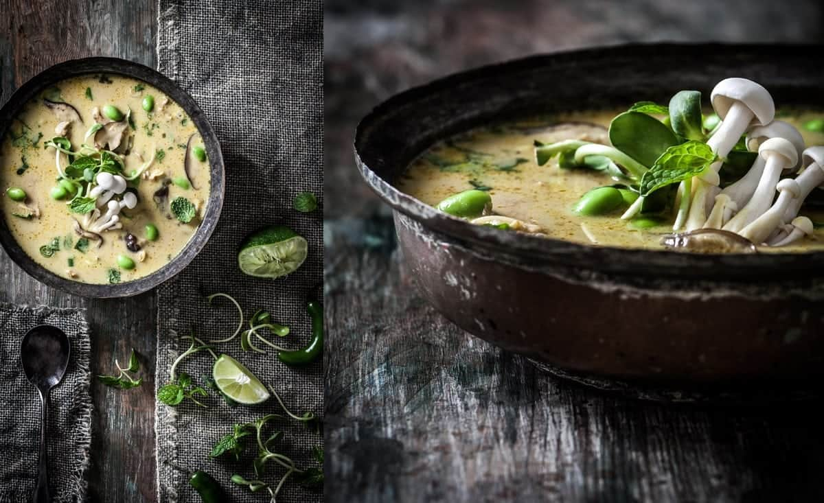 Coconut Curry Chicken Soup 3 - Little Rusted Ladle - Jena Carlin Photography - King Arthur Flour Limited Usage