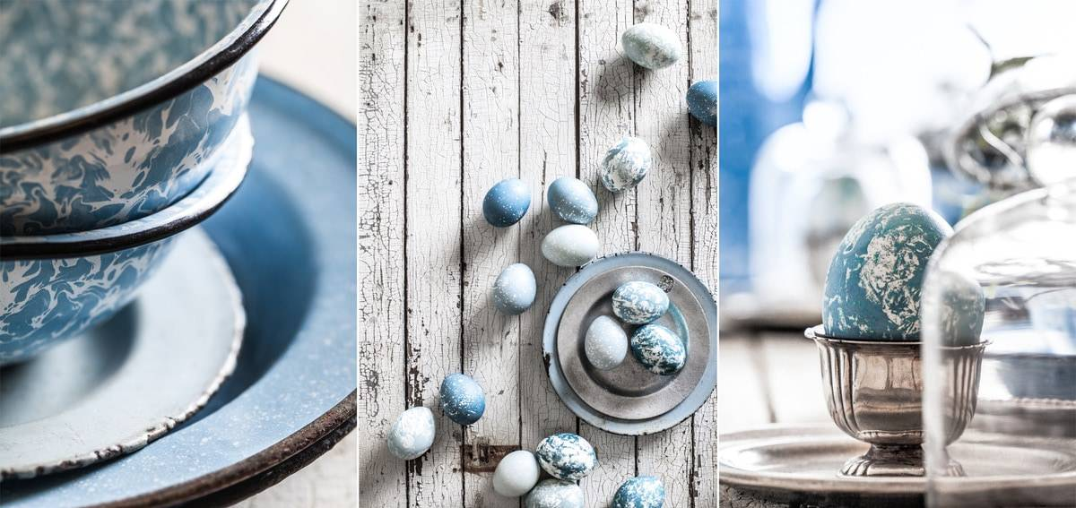 Natural Egg Dying - Little Rusted Ladle - Jena Carlin Photography - King Arthur Flour Limited Usage