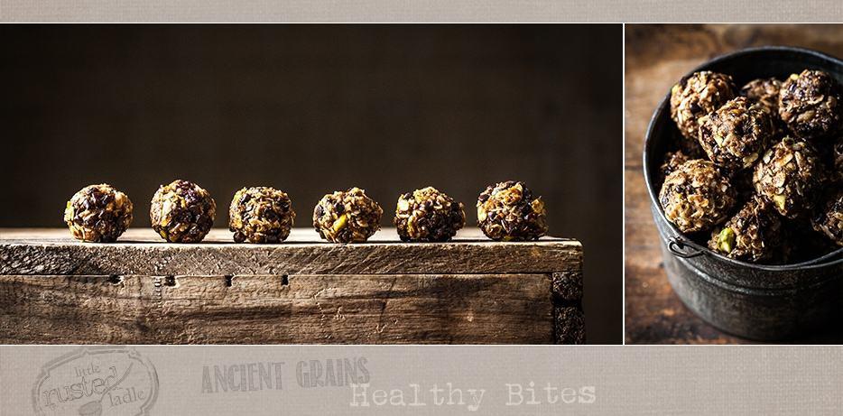 Ancient Grains_ No Bake Healthy Energy Bites Recipe_FB