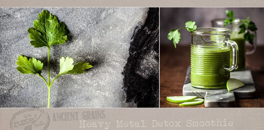 Ancient Grains_Heavy Metal Detox Oatmeal Smoothie Recipe_Little Rusted Ladle_FB