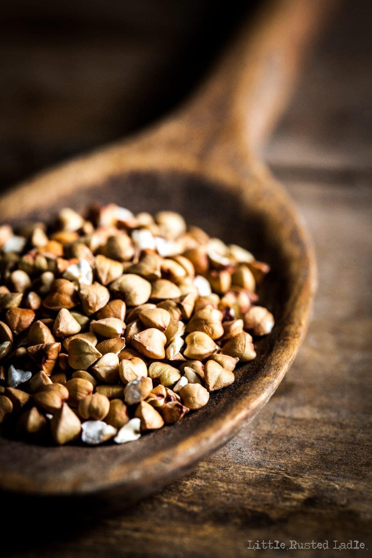 Buckwheat Breakfest Soufflés - Ancient Grains - Little Rusted Ladle - 0010-96