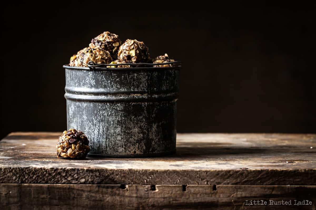 Cherry Energy Balls - Ancient Grains - Little Rusted Ladle - 009-96 WM