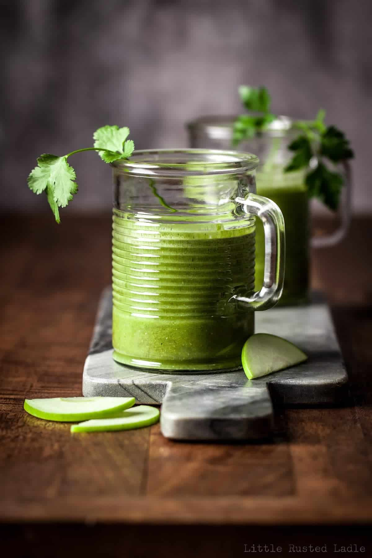 Heavy Metal Detox Green Smoothie - Little Rusted Ladle - Jena Carlin Photography - 030-web WM