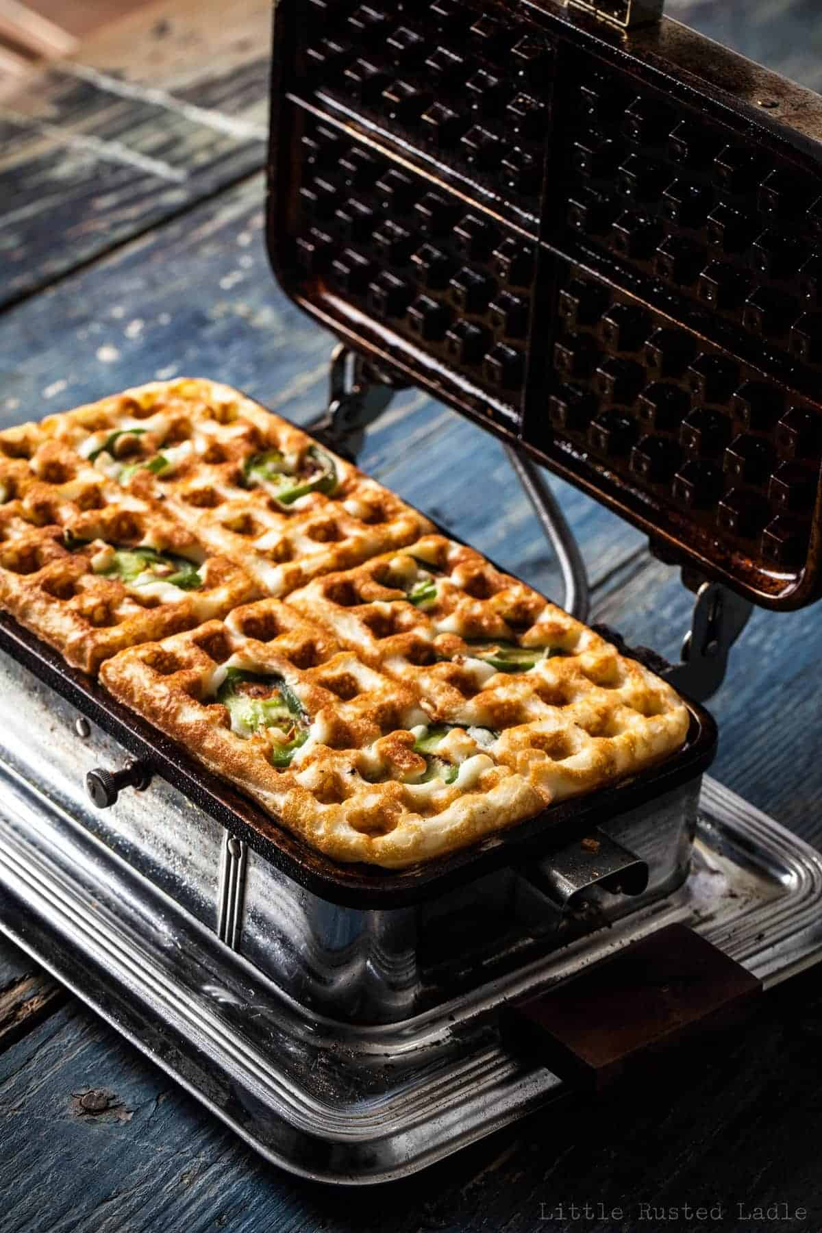 Waffle Sandwich How To - Little Rusted Ladle - Jena Carlin Photography -032 96 WM