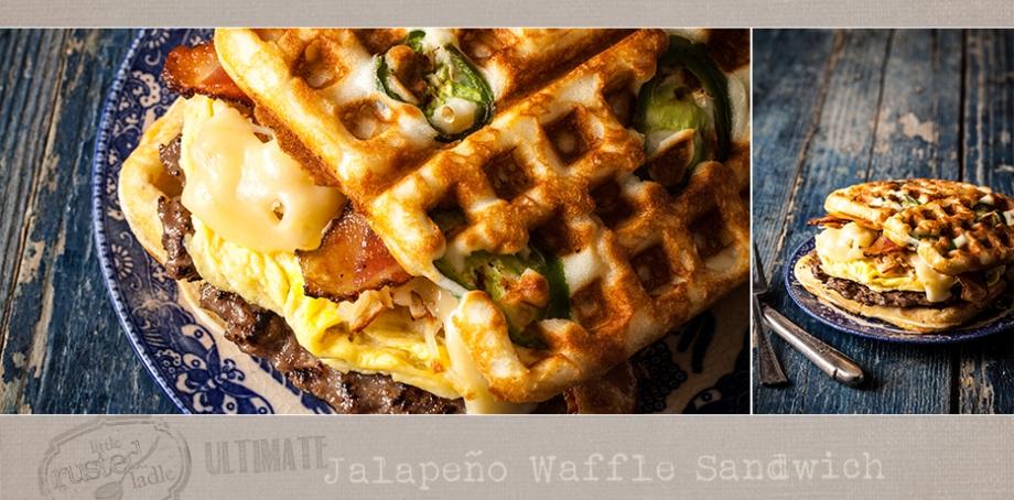 Waffle Sandwich Recipe - Little Rusted Ladle - Jena Carlin Photography - FB-002 - 96 Web