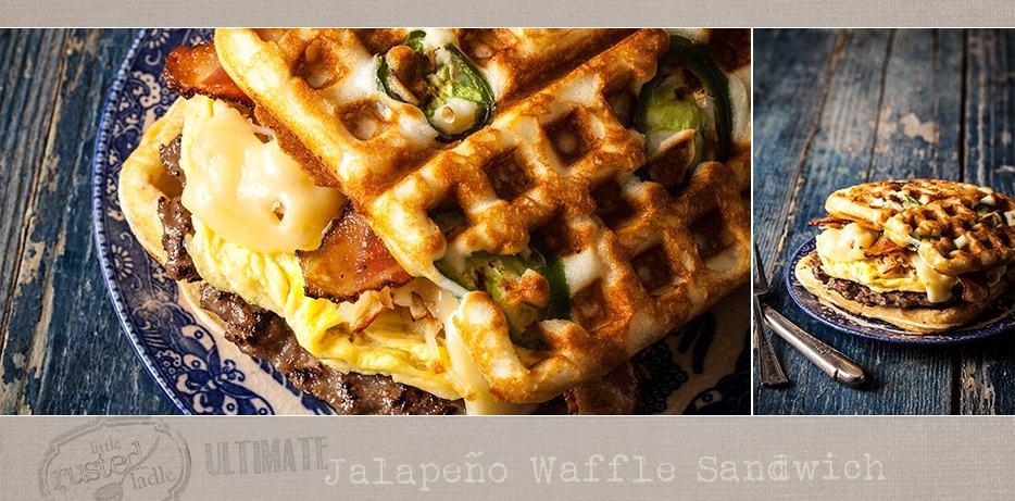 Waffle Sandwich Recipe - Little Rusted Ladle - Jena Carlin Photography - FB-002 - 96 Web