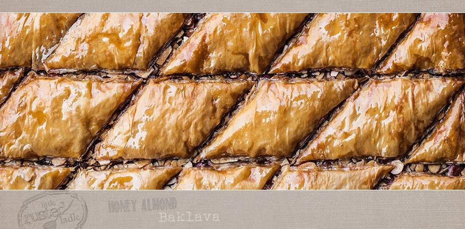 Baklava Recipe with Honey and Almond - Little Rusted Ladle