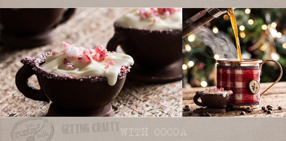 Hot Cocoa Craft - Peppermint Mocha - www.littlerustedledle.com