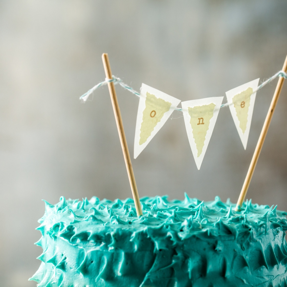 Vintage Circus Theme First Birthday Party Healthier Smash Cake - Jena Carlin Photography - Web-10