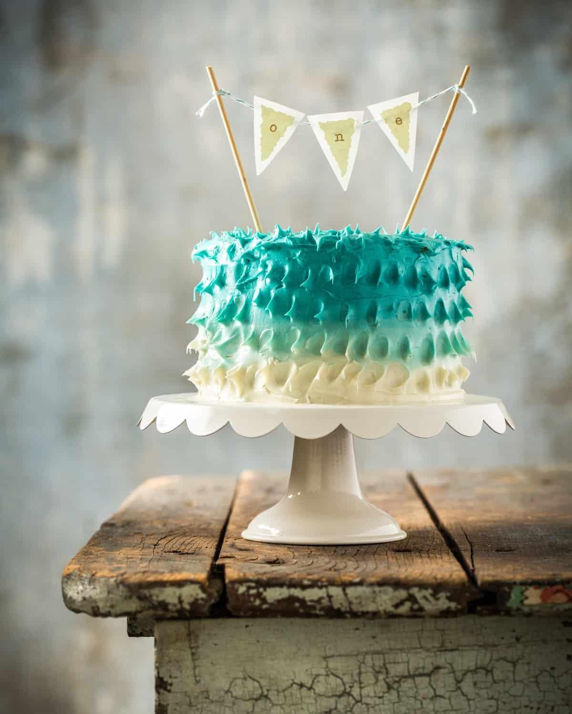 Vintage Circus Theme First Birthday Party Healthier Smash Cake - Jena Carlin Photography - Web-4