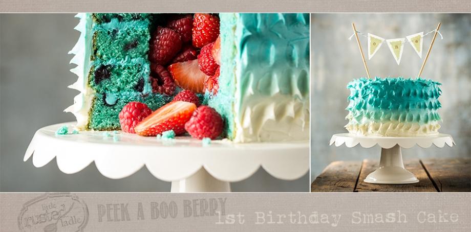 Vintage Circus Theme First Birthday Party Smash Cake - Jena Carlin Photography - FB