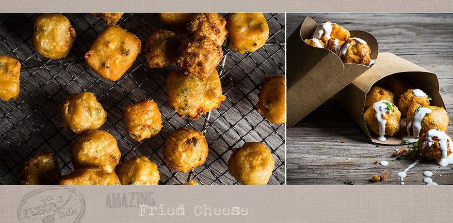 Amazing Fried Cheese - Football Superbowl Party Best Appetizer Ever - Little Rusted Ladle - Jena Carlin Photography -fb