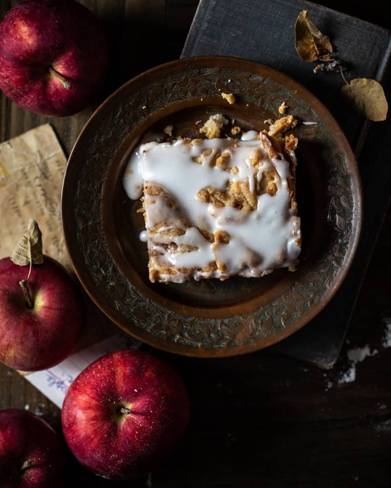 Cinnamon Apple Squares to feed a crowd recipe