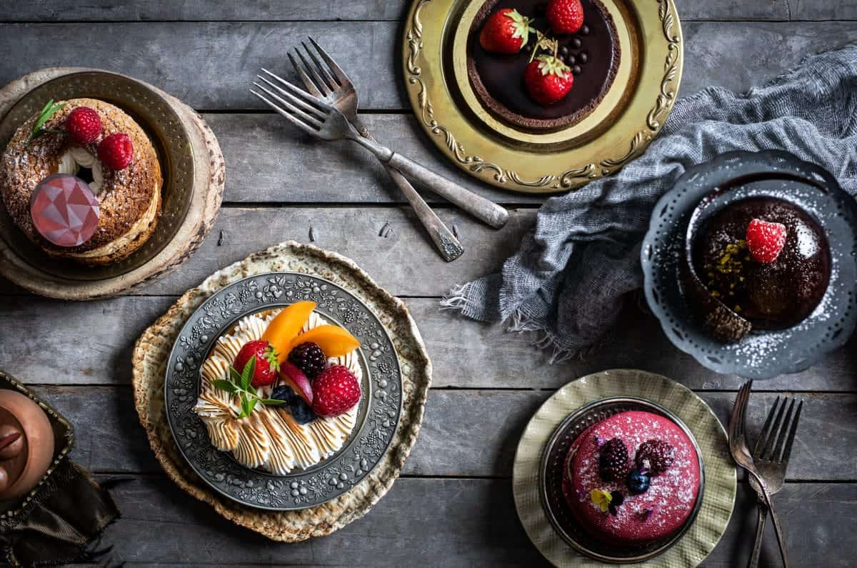 French Dessert Photography