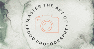 food photography summit logo camera