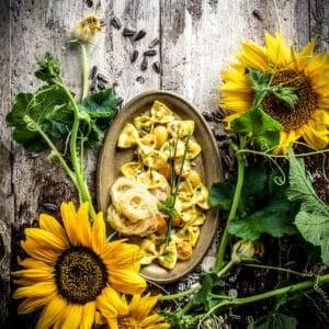 organic sunflower styled recipe
