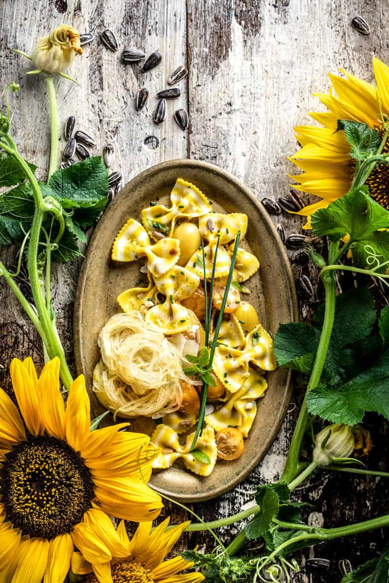organic sunflower styled recipe