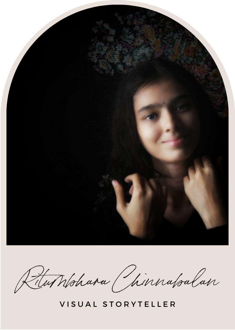 ritumbhara chinnabalan visual storyteller headshot
