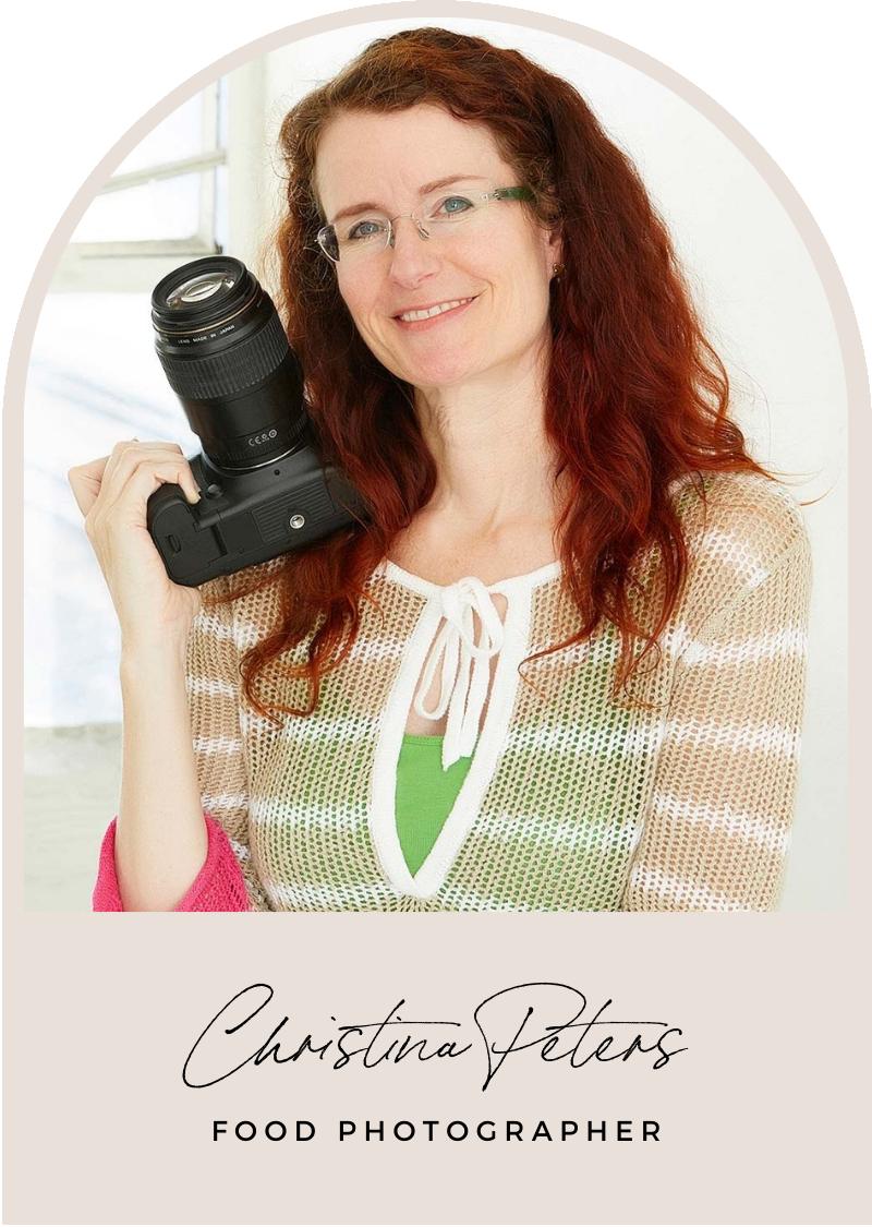 christina peters food photographer headshot