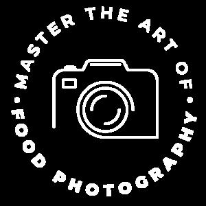 white Food Photography Summit Logo