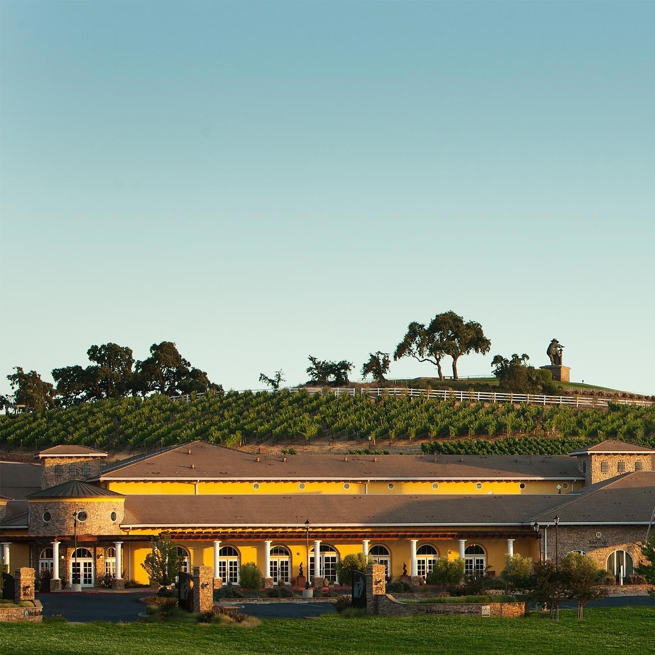 the scenic Meritage Resort and vineyard