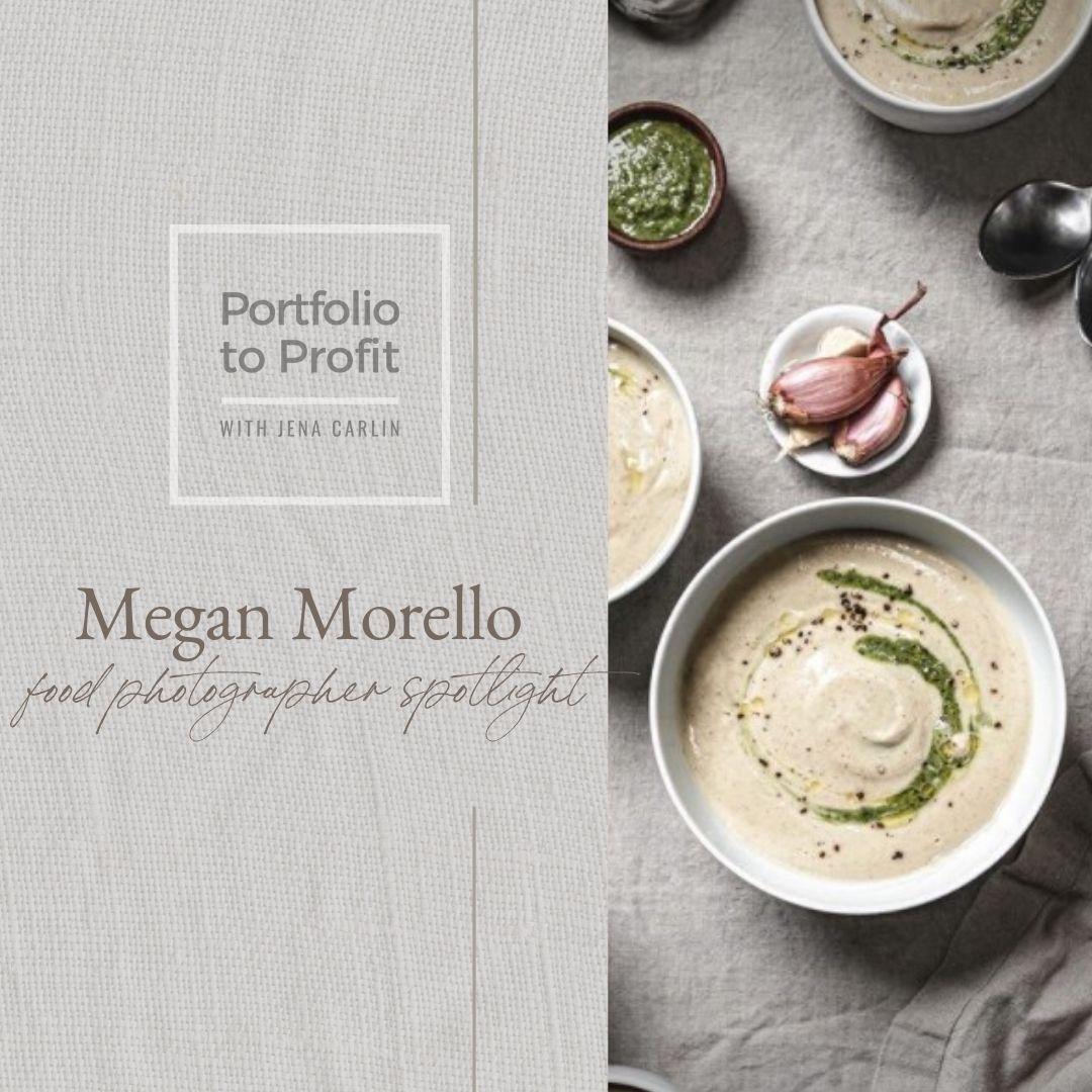 portfolio to profit food photography Megan Morello